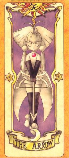Thẻ bài The Arrow - Clow Cards