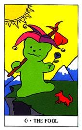 Lá 0. The Fool - Gummy Bear Tarot 1