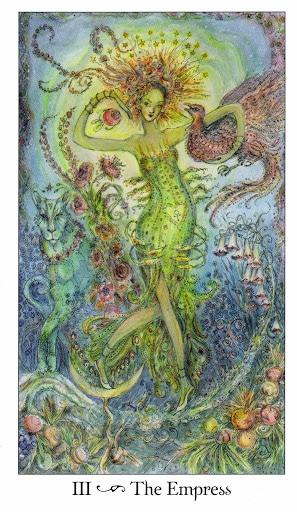 Lá III. The Empress - Paulina Tarot