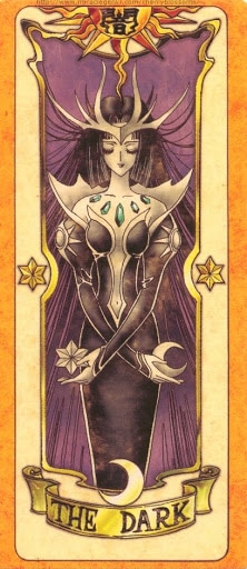 Thẻ bài The Dark - Clow Cards