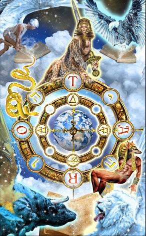 Lá X. The Wheel – Tarot Illuminati