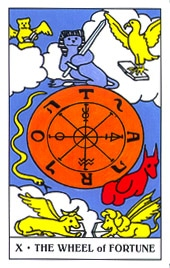 Hình Ảnh Lá X. The Wheel of Fortune - Gummy Bear Tarot Kênh Kiến Thức Và Tri Thức
