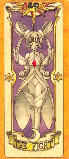Thẻ bài The Fight - Clow Cards