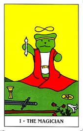 Lá I. The Magician - Gummy Bear Tarot 1