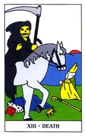 Hình Ảnh Lá XIII. Death - Gummy Bear Tarot Kênh Kiến Thức Và Tri Thức