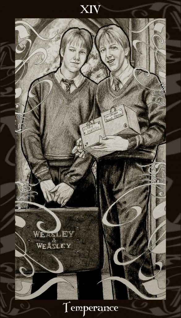 Lá XIV. Temperance trong bộ Harry Potter Tarot