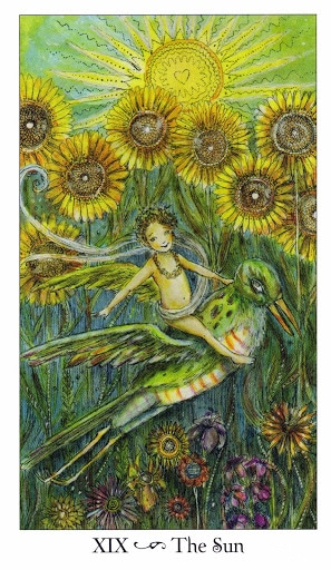 Lá XIX. The Sun - Paulina Tarot
