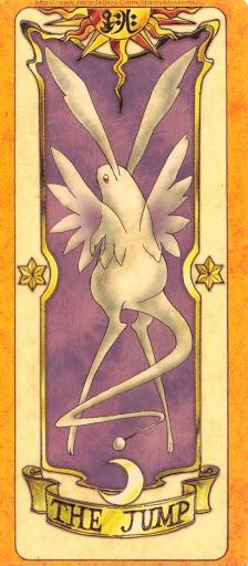 Thẻ bài The Jump - Clow Cards