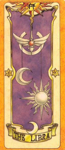 Thẻ bài The Libra - Clow Cards
