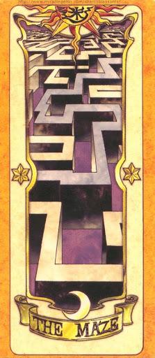Thẻ bài The Maze - Clow Cards