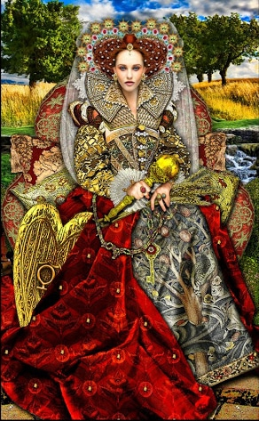 Lá III. The Empress - Tarot Illuminati 2
