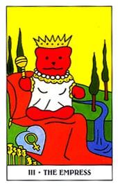 Lá III. The Empress - Gummy Bear Tarot 1