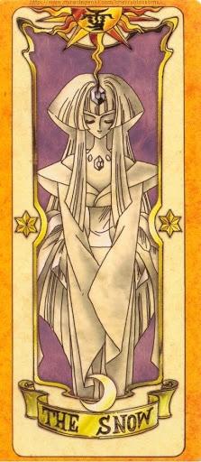 Thẻ bài The Snow - Clow Cards