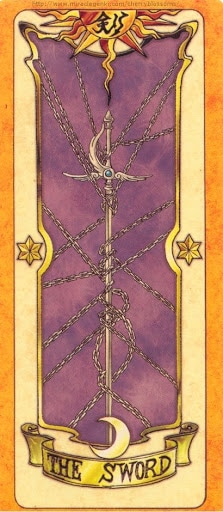 Thẻ bài The Sword - Clow Cards