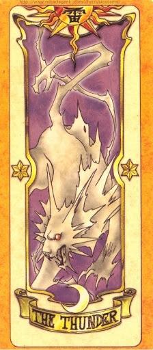 Thẻ bài The Thunder - Clow Cards