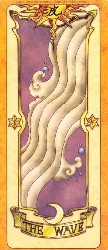 Thẻ bài The Wave - Clow Cards