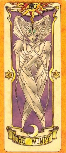 Thẻ bài The Windy - Clow Cards