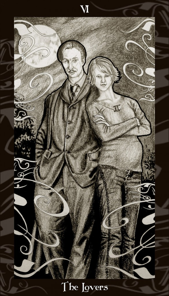 Lá VI. The Lovers - Harry Potter Tarot 1