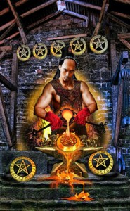 8 of Pentacles 1