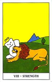 Hình Ảnh Lá VIII. Strength - Gummy Bear Tarot Kênh Kiến Thức Và Tri Thức