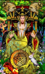 Queen of Pentacles 1