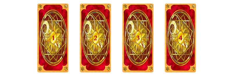 Dùng bài Clow Cards bói cho người khác