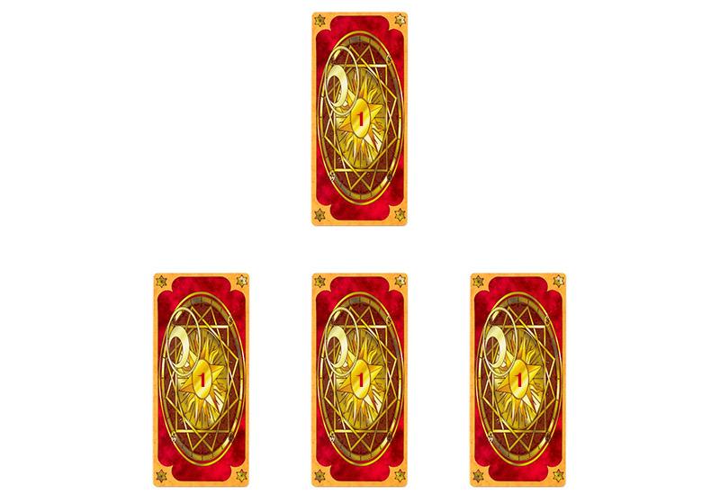 Trai bai Clow Cards toc hanh