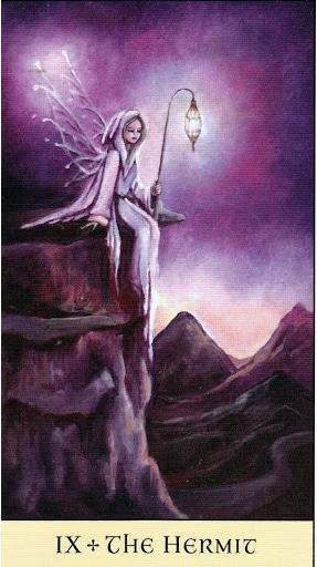 Lá IX. The Hermit - Crystal Visions Tarot