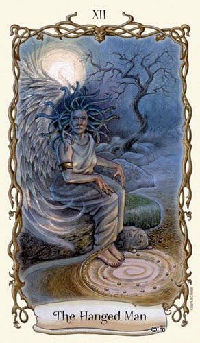 Lá XII. The Hanged Tarot - Fantastical Creatures Tarot
