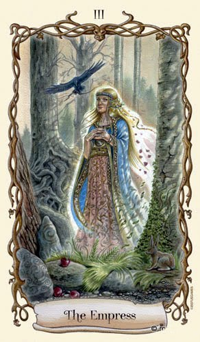 Lá III. The Empress – Fantastical Creatures Tarot