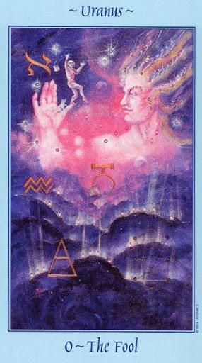 Lá 0. The Fool - Celestial Tarot