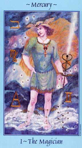 Lá I. The Magician - Celestial Tarot