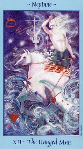 Lá XII. The Hanged Man - Celestial Tarot