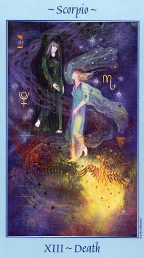 Lá XIII. Death - Celestial Tarot