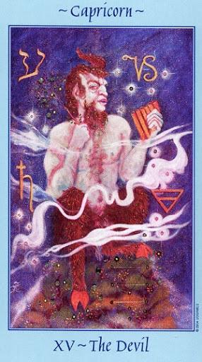 Lá XV. The Devil - Celestial Tarot