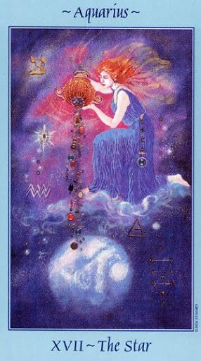 Lá XVII. The Star - Celestial Tarot