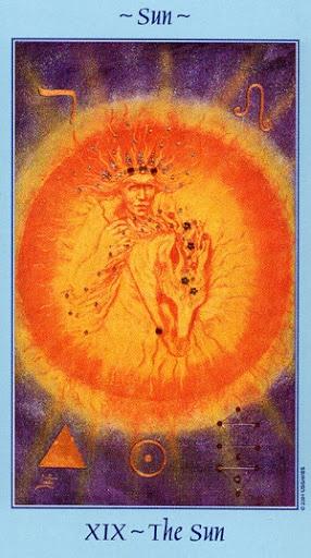 Lá XIX. The Sun - Celestial Tarot