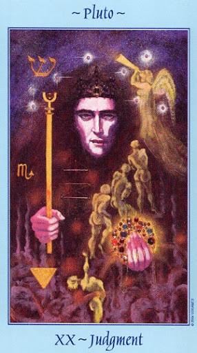 Lá XX. Judgment - Celestial Tarot