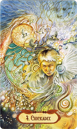 Lá 4. Chickadee – Winged Enchantment Oracle
