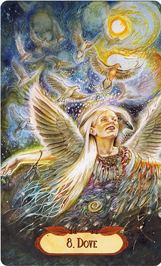 Lá 8. Dove – Winged Enchantment Oracle