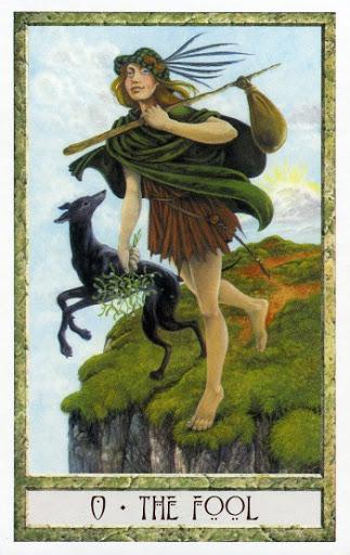Lá 0. The Fool – Druidcraft Tarot