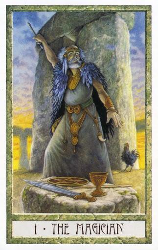 Lá I. The Magician - Druidcraft Tarot