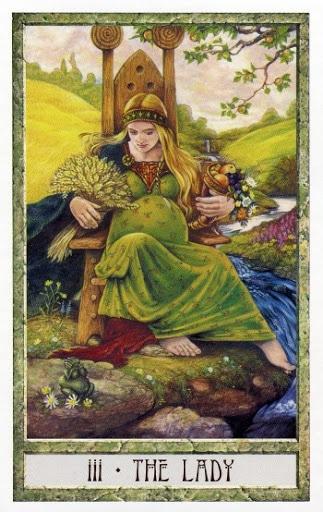Lá III. The Lady - Druidcraft Tarot