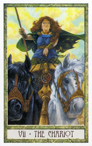 Lá VII. The Chariot - Druidcraft Tarot