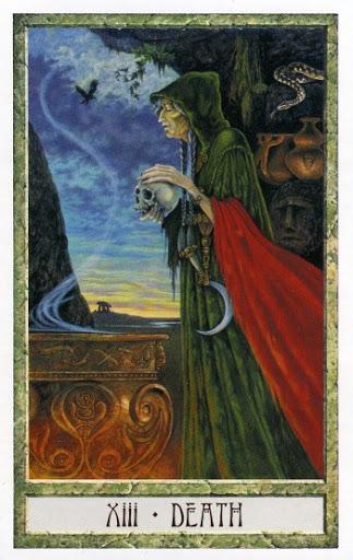 Lá XIII. Death - Druidcraft Tarot