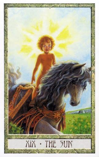 Lá XIX. The Sun - Druidcraft Tarot