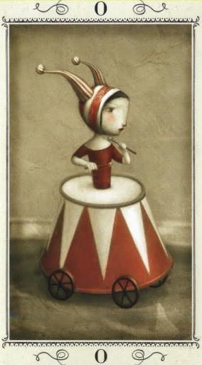 Lá 0. The Fool – Nicoletta Ceccoli Tarot