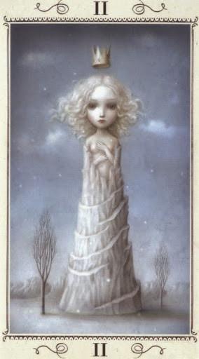 Lá II. The High Priestess – Nicoletta Ceccoli Tarot