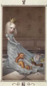 Lá King of Cups - Nicoletta Ceccoli Tarot