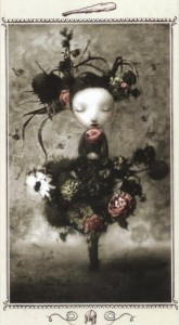 Lá Page of Wands - Nicoletta Ceccoli Tarot
